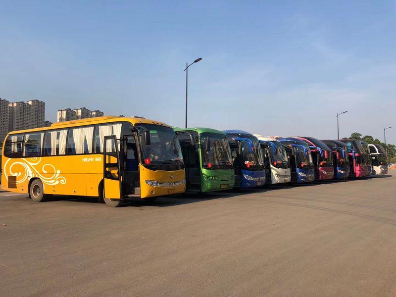 大型大巴车队